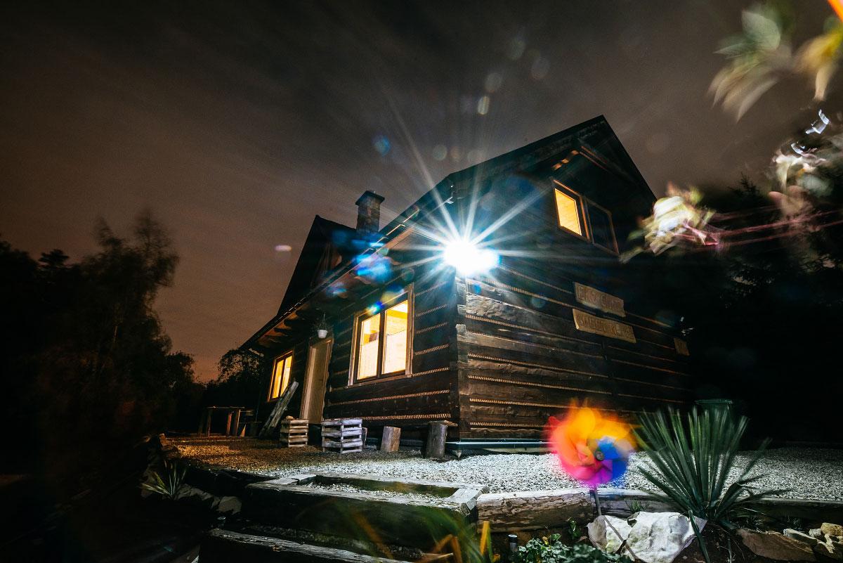 wyjątkowa chata z bali, eko chata w ustroniu,