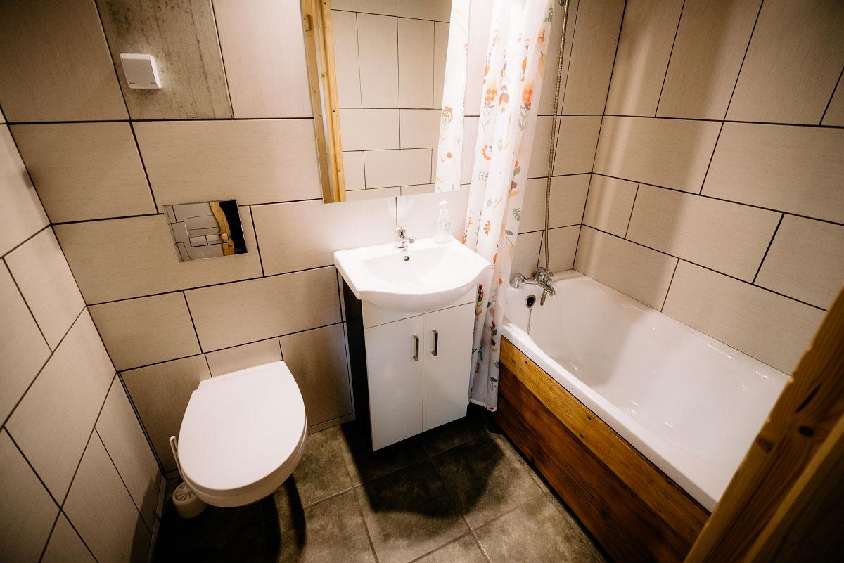 łazienka pokoju góralskiego