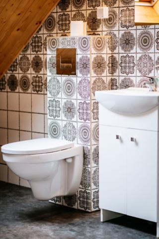 łazienka pokoju 4 osobowego